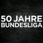 50 Jahre Bundesliga ein einem Spielzug